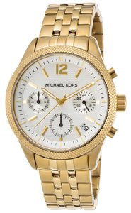 Michael Kors Women's Ritz Chronograph Gold Tone Stainless Steel Watch MK6132