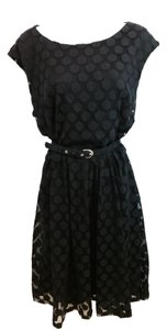 Alfani Black Mesh Dress