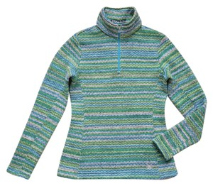 Spyder CHEVRON ZIG ZAG FLEECE HALF-ZIP SWEATER
