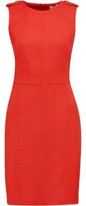 Tory Burch Classic Red Classy Sheath Fully Lined Dress