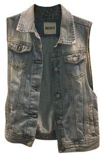 Brandy Melville Denim Lightwash Vest