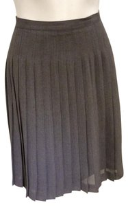 The Limited Pleated Pleat Classic Skirt Grey