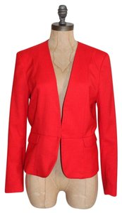 H&M Fitted Valentines H And M RED Blazer