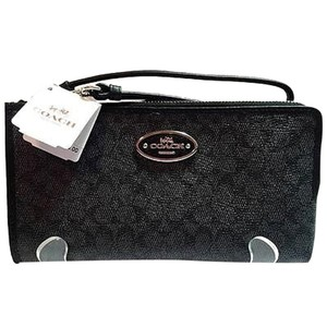Coach Wristlet in Dark Denim