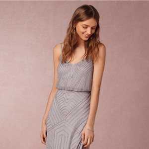 BHLDN Grey Sophia Bhld Bridesmaid Dress Dress