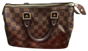 Louis Vuitton Satchel in DE (Damier Ebene)