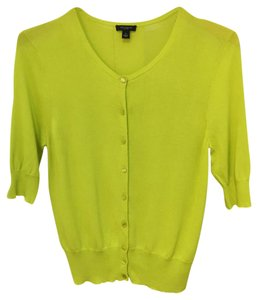 Ann Taylor Retail Fresh Color Crew Neck Fave Cardigan