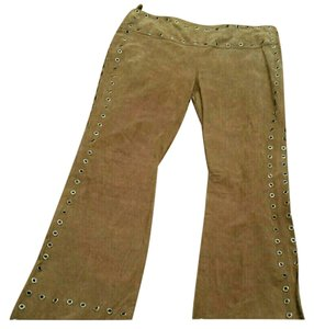 Wilsons Leather Flare Pants Camel