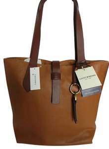Lucky Brand Tote in Brown Tobacco