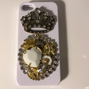 Charm Candy Iphone 5 Charm Candy Crown Cell Phone Case New with Tags