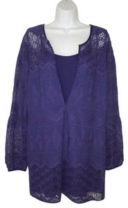 Twelfth St. by Cynthia Vincent Lace Tunic