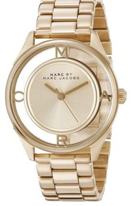 Marc by Marc Jacobs Marc by Marc Jacobs gold tether see through watch
