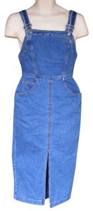 Guess By Marciano short dress Blue Vintage Bib Overalls 80s on Tradesy