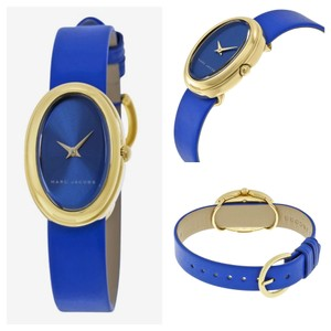 Marc by Marc Jacobs Marc by Marc Jacobs blue leather cicely watch