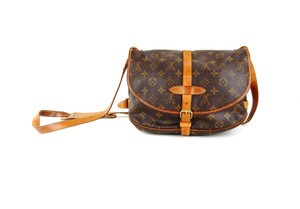 Louis Vuitton Vintage Messenger Monogram Messenger Bag