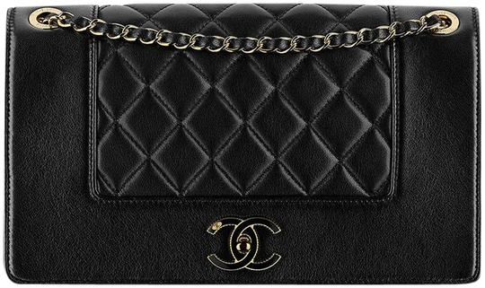d79de855f068 Chanel Mademoiselle Classic Flap Vintage Black Shoulder Bag - Tradesy