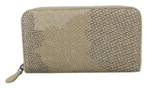 Bottega Veneta BVSL02 Exotic Zip Around Wallet