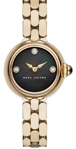 Marc by Marc Jacobs Marc by Marc Jacobs black face and gold Courtney glitz watch