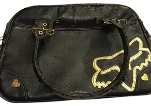 Fox Satchel in black