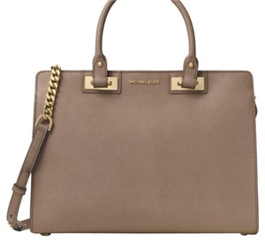 MICHAEL Michael Kors Satchel in dark dune
