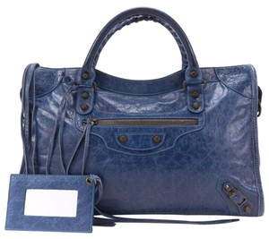 Balenciaga Satchel in blue
