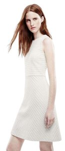 Theory short dress white Sleeveless Gingham on Tradesy