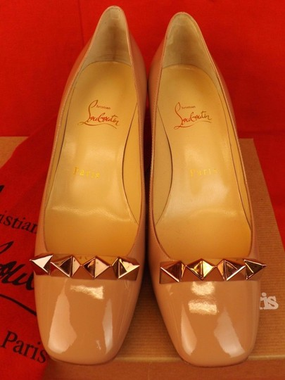 Christian Louboutin Nude/Rose Gold Pumps Image 2