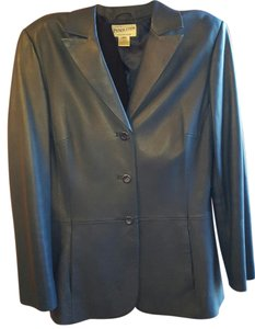 Pendleton Leather Lining cobalt blue Blazer