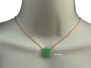 Kate Spade Kate Spade 'Cause a Stir' Stone Pendant Necklace Beryl Green WBRU9619