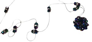 Other New Crystal Disco Ball Necklace Long Length N4019