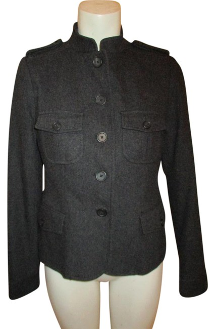 Preload https://img-static.tradesy.com/item/20506801/banana-republic-grey-wool-blend-miltary-jacket-size-4-s-0-1-650-650.jpg