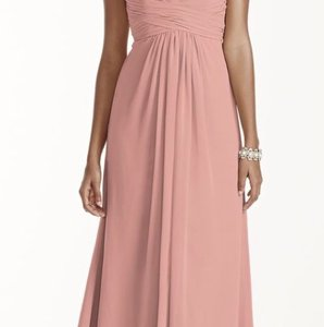 David's Bridal Ballet David's Bridal Strapless Bridesmaid Dress Dress