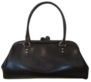 INC International Concepts Leather Tote in Black
