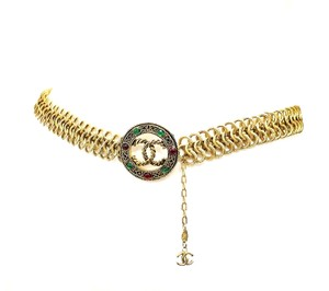 Chanel Vintage Chanel Gripoix Chain Belt, Necklace Very Rare