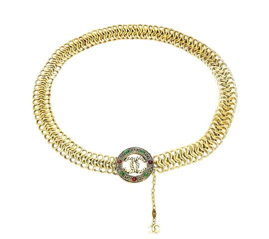 Chanel Vintage Chanel Gripoix Chain Belt, Necklace Very Rare Image 7