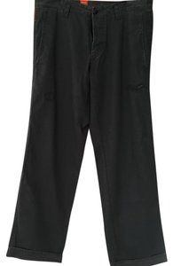 Hugo Boss Wide Leg Pants dark blue/grey mix