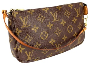 Louis Vuitton Auth LV Monogram Accessory Pouch