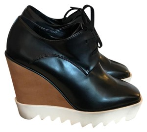 Stella McCartney Black Wedges