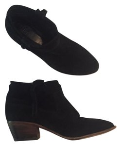 Joie Suede Black Boots