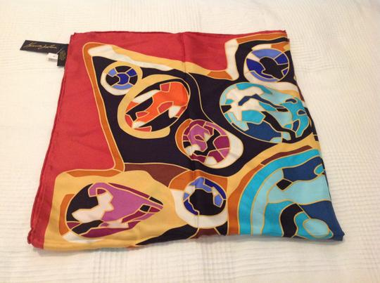 Kenneth Jay Lane KENNETH JAY LANE SILK PRINTED SCARF WITH TAGS Image 3