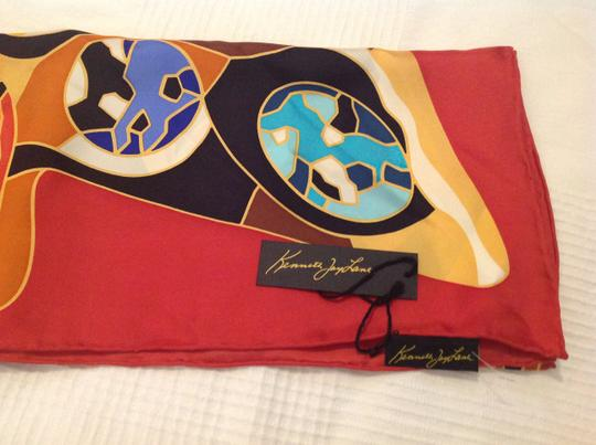 Kenneth Jay Lane KENNETH JAY LANE SILK PRINTED SCARF WITH TAGS Image 4