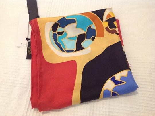 Kenneth Jay Lane KENNETH JAY LANE SILK PRINTED SCARF WITH TAGS Image 5