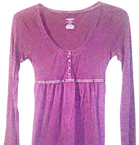 American Eagle Outfitters Cotton Top Purple