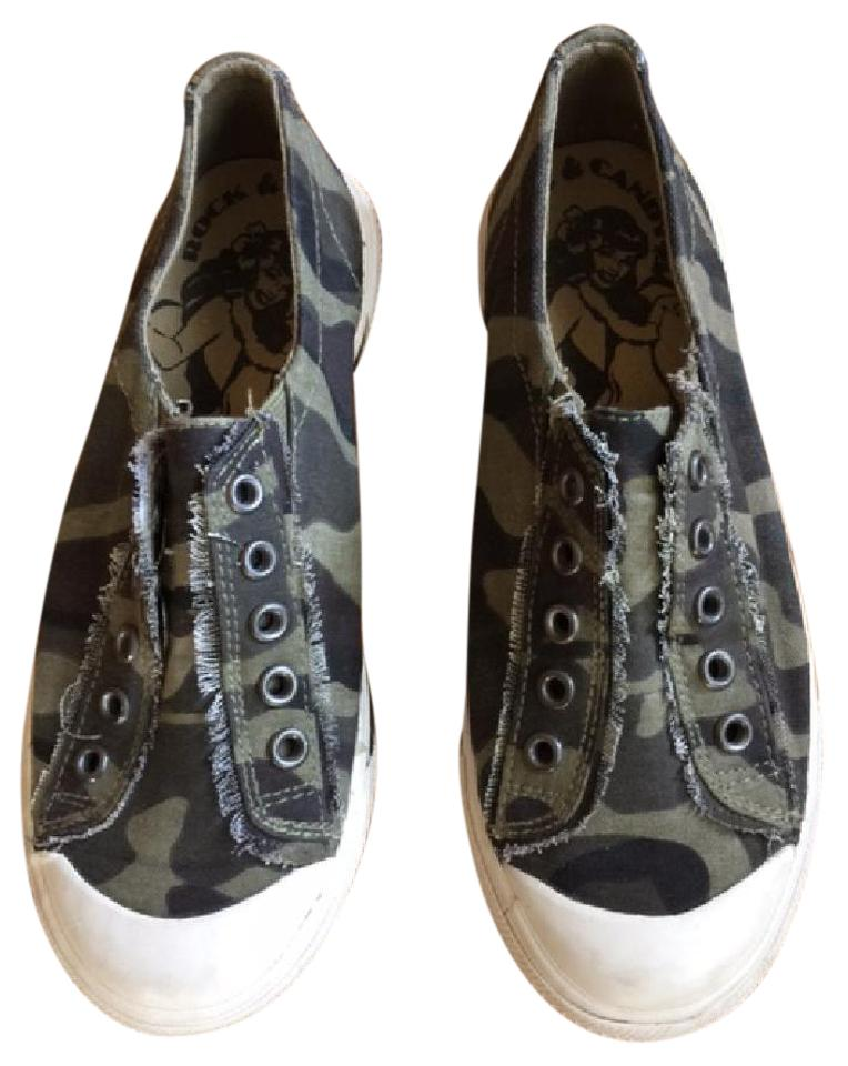6fcadbc737ff1 Rock Candy Camo Slip On Canvas Sneakers - No Lace Design Flats. Size: US 7  ...