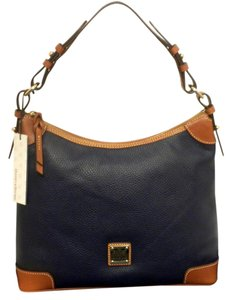 Dooney & Bourke Cobalt Navy Blue D&b R924 C9 Navy Blue R924 Hobo Bag
