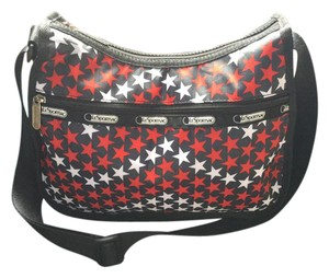 LeSportsac Patriotic Travel Handbags Travel Luggage Shoulder Bag