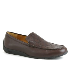 Gucci Guccissima Leather Dress Shoe Loafer Moccasin 9.5g/us 10 269985 2019