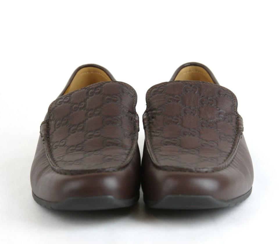 fd40e2b734e Gucci Brown Guccissima Leather Dress Loafer Moccasin 9.5g Us 10 269985 2019  Shoes Image. 12345678910