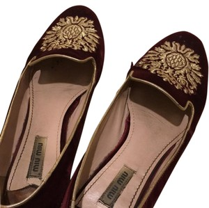 Miu Miu purple/marron/ Flats