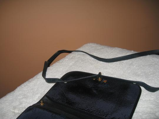 Dior Leather Canvas Cross Body Bag